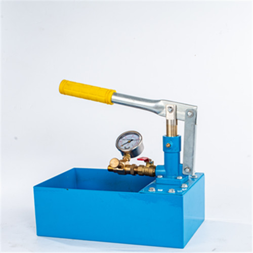 Manual test pump