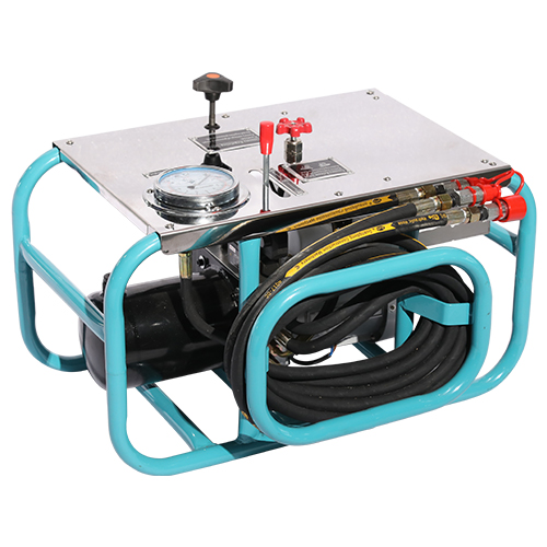 Hydraulic station for HDPE pipe welding machine