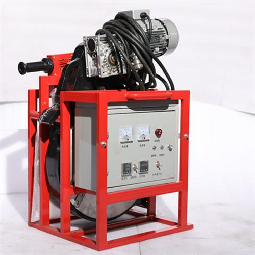 Cylinder ring seam welding machine