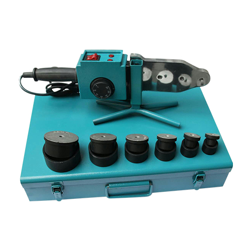 Plastic cap welding machine